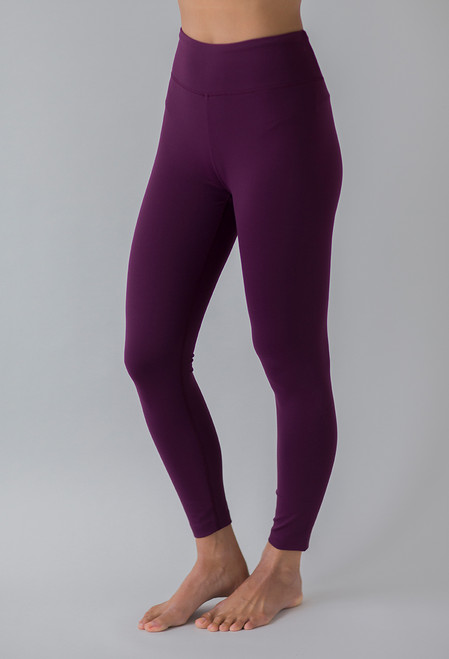 Grace Ultra High Waist 7/8 Yoga Legging in Moulin Rouge