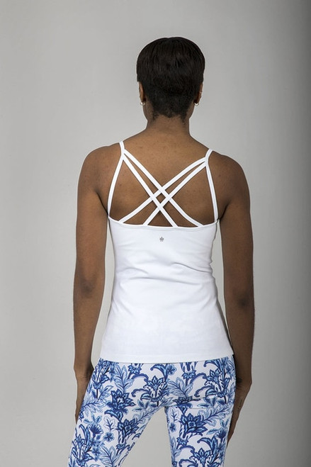 Grace En Pointe Yoga Cami (White)