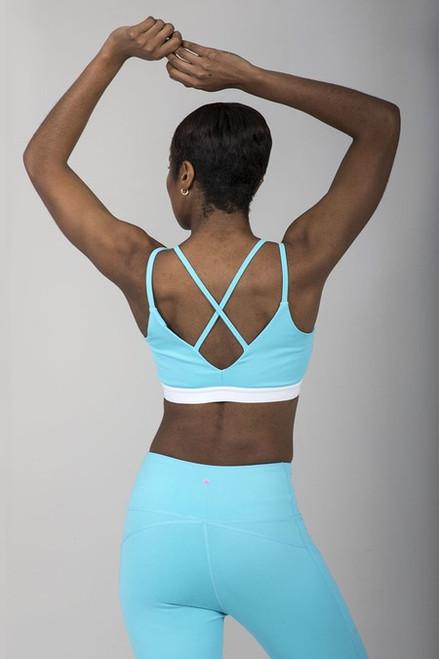 V-Back Yoga Bra (Calypso)
