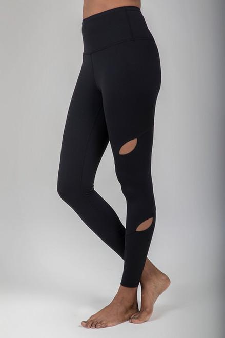 Warrior Tiffany Seva Yoga Legging (Black)