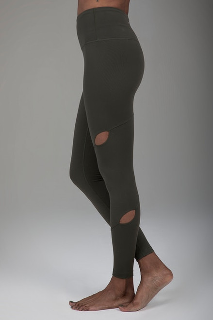 Warrior Tiffany Seva Yoga Legging (Olive)