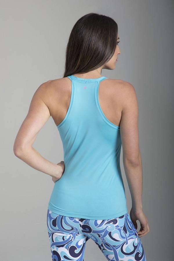 Venus Yoga Tank (Light Turquoise)