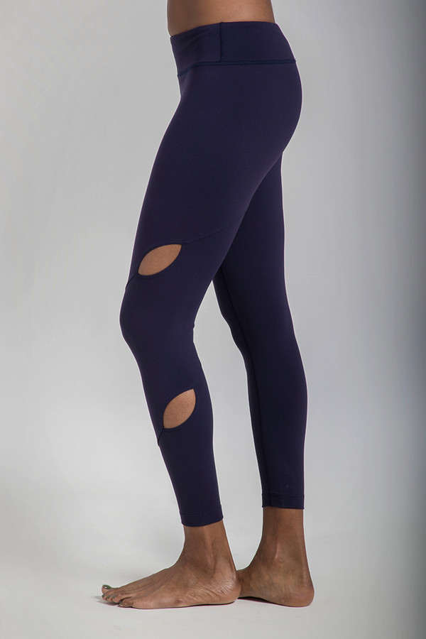 Warrior Tiffany Seva Yoga Legging in Navy