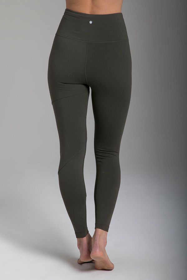 be80c9f30c1a9 Warrior Tiffany Seva Yoga Legging in Olive. The Total Package Yoga Outfit
