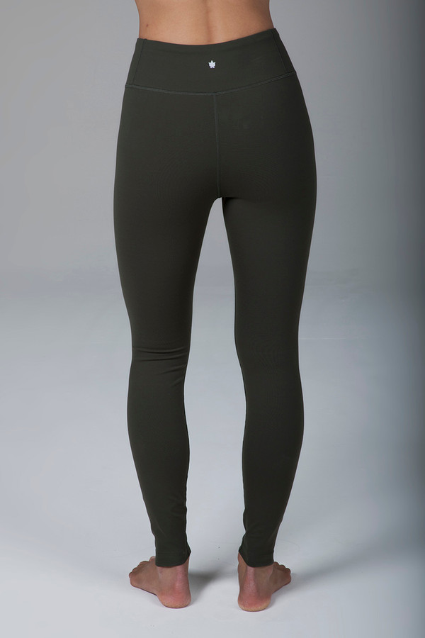 Grace Ultra High Waist Yoga Legging (Forest Night)