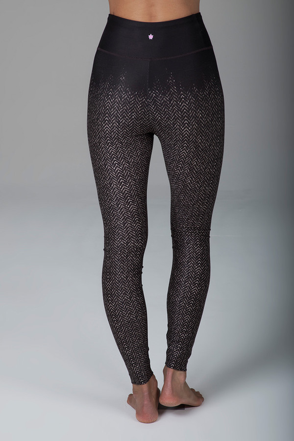 Grace Ultra High Waist Yoga Legging (Natural Tweed)