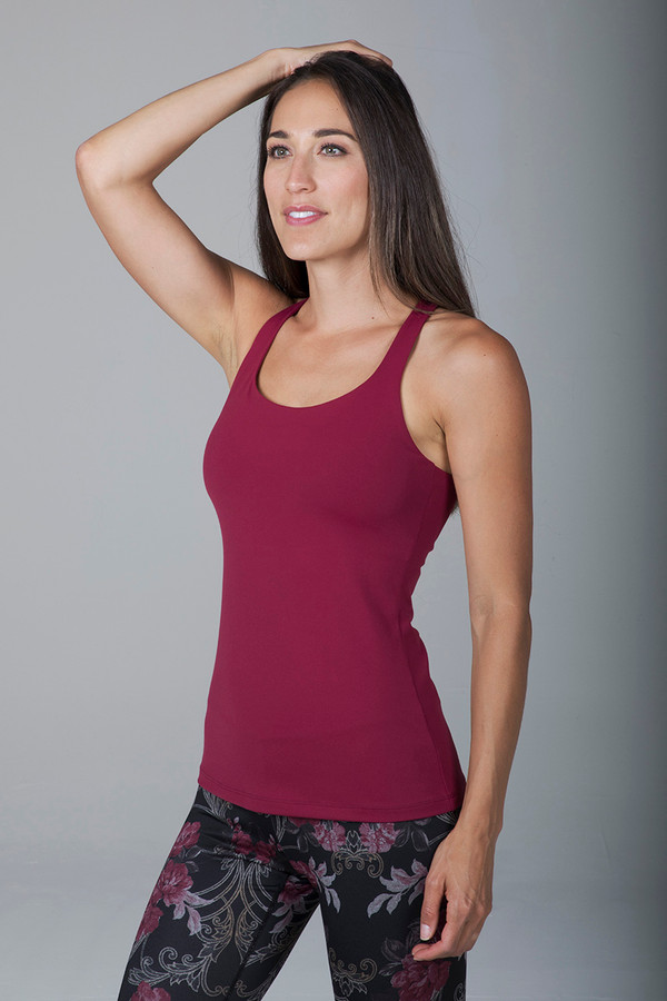 Grace Yoga Tank (Brandy)