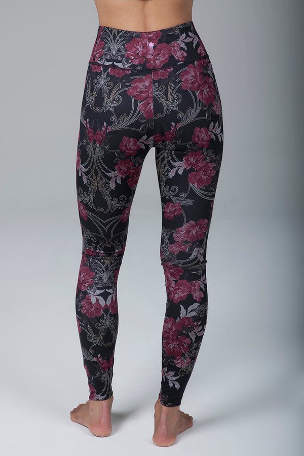 Grace Ultra High Waist Legging (Versailles Rose Print)
