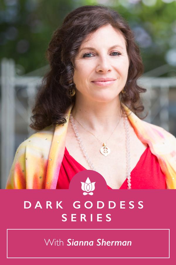 Dark Goddess Series with Kali, Durga, Black Madonna & Tara from Sianna Sherman