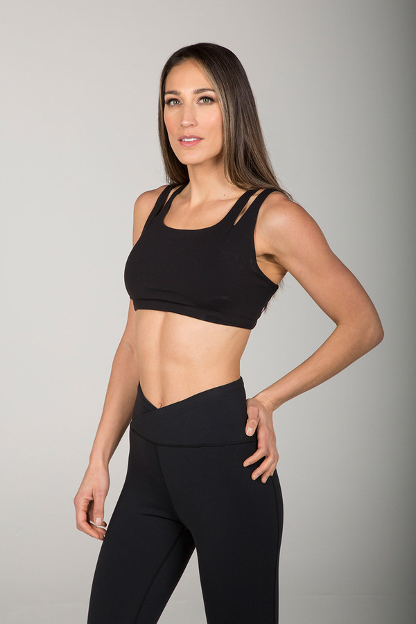 Kathryn Eternity Yoga Bra (Black)