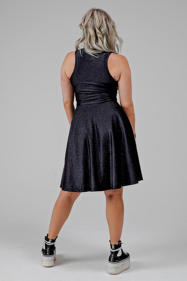 Fit & Flare Yoga Dress (Stardust)
