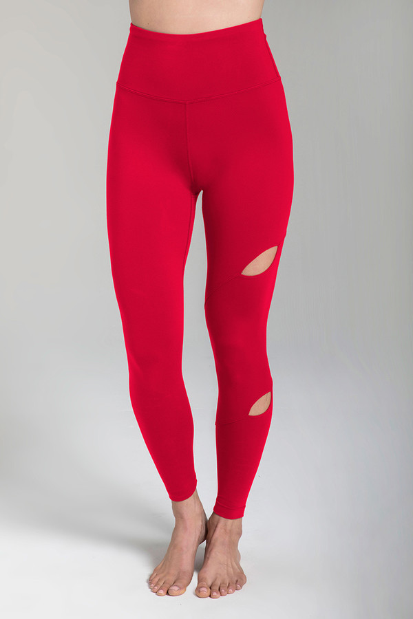 Warrior Tiffany Seva Yoga Legging (Ruby)