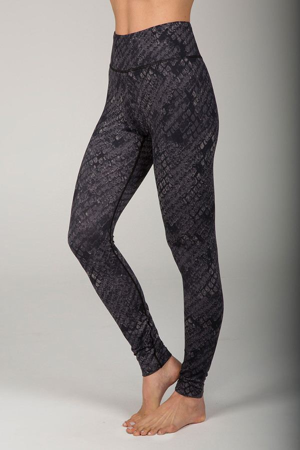 Grace Ultra High Waist Yoga Legging (Black Cobra)