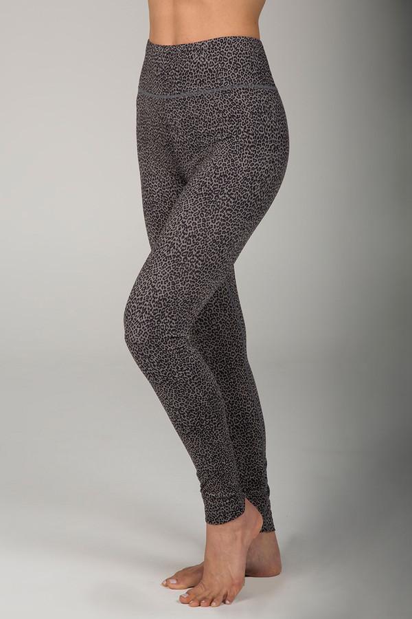 Grace Ultra High Waist Yoga Legging (Charcoal Leopard)