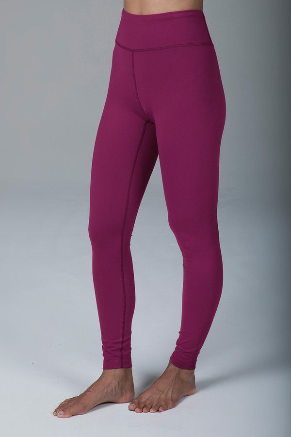 Grace Ultra High Waist Yoga Legging (Syrah)