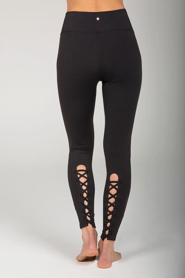 Goddess Corset Yoga Legging (Black)