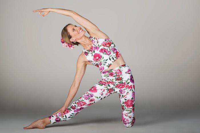 Grace Ultra High Waist 7/8 Yoga Legging (Botanica)