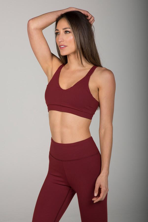 Elena Brower Yoga Bra side view