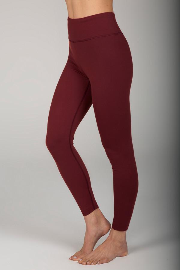 Grace Ultra High Waist 7/8 Yoga Legging (Clay)