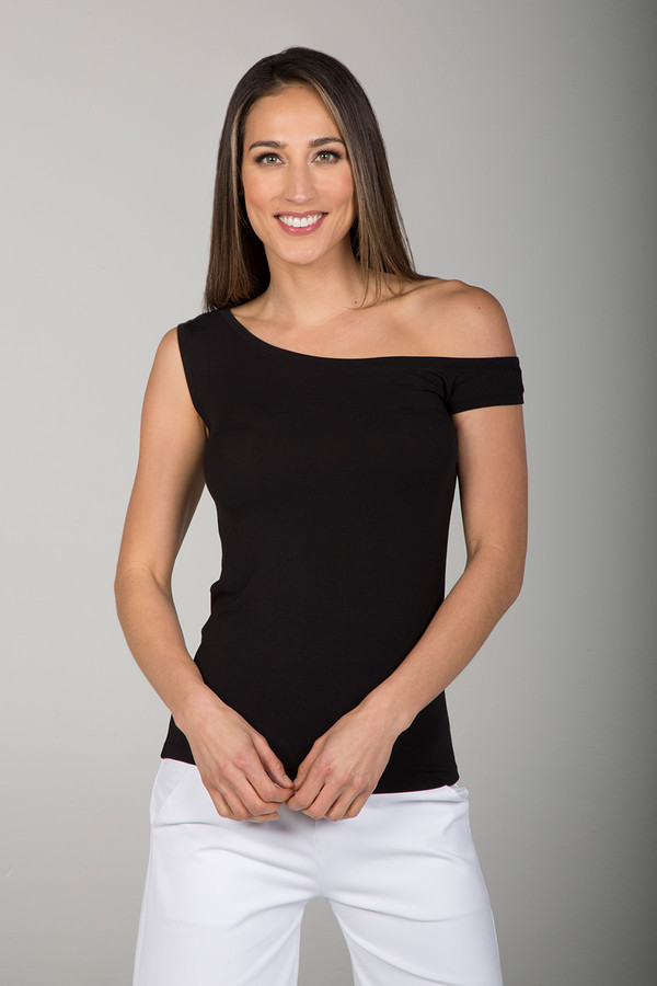 One-Sleeve Tee (Black)