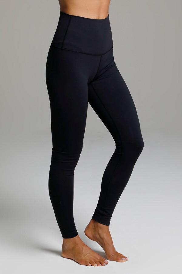 Renew Ultra High Waist Yoga Legging (Black) side