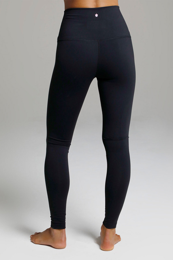 Renew Ultra High Waist Yoga Legging (Black) back