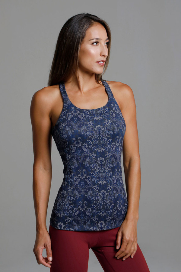 Form Fitting and Supportive Navy Activewear