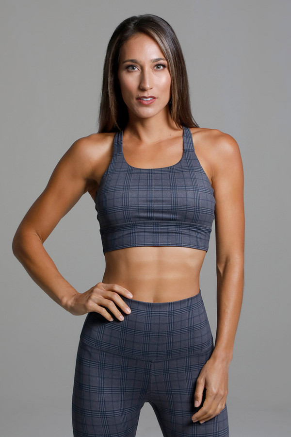 High Coverage High Support Sports Bra front view