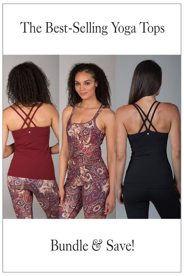 The Best Selling Yoga Top Bundle Double-Strap Styles