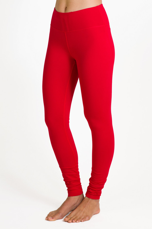 Red Goddess High Waist Yoga Tight Leggings