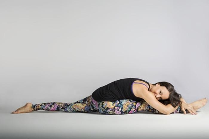 Wonderland Printed Grace Yoga Outfit Tight Leggings