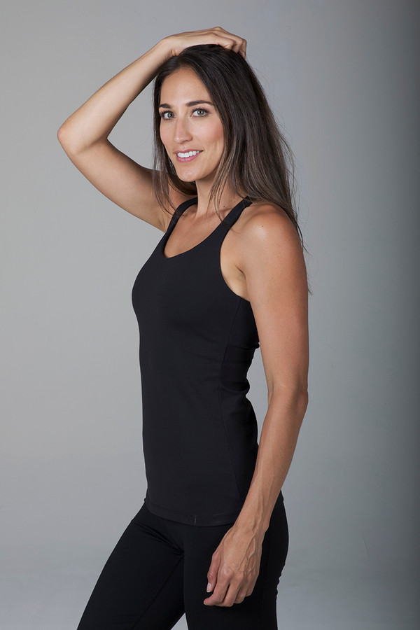 Grace Yoga Tank (Black)