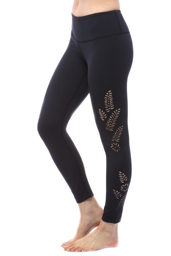 KiraGrace Paradise Laser-cut leggings