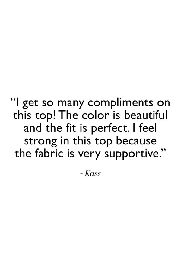 Grace Yoga Halter Navy Quote Customer Review