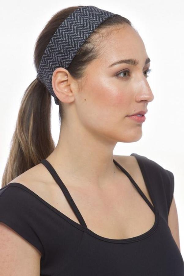KiraGrace matching Herringbone Yoga Headband