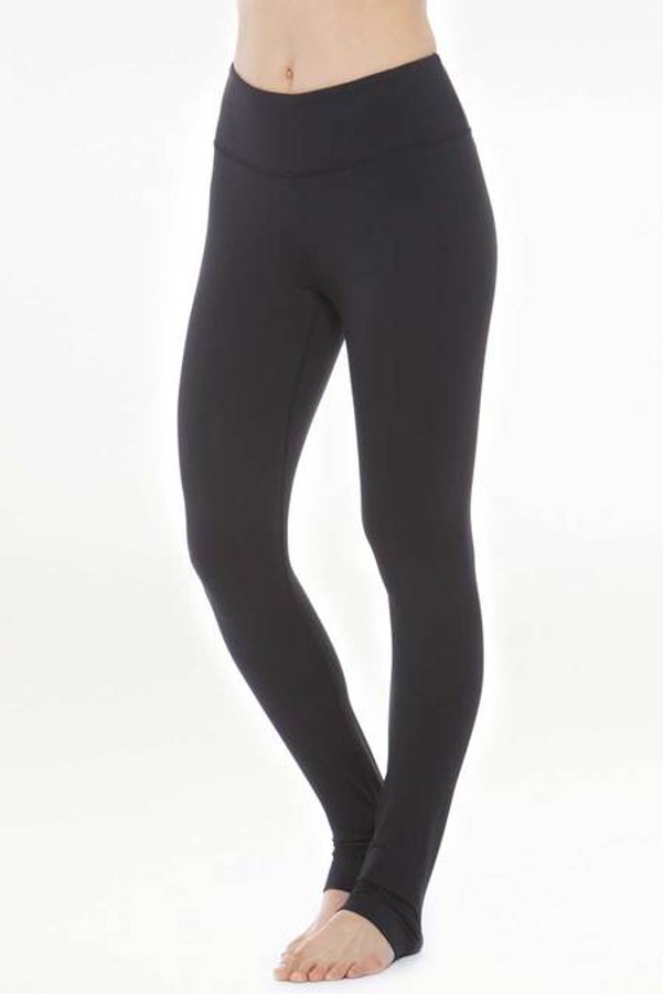 Model wearing KiraGrace Grace High Waist Yoga Legging front