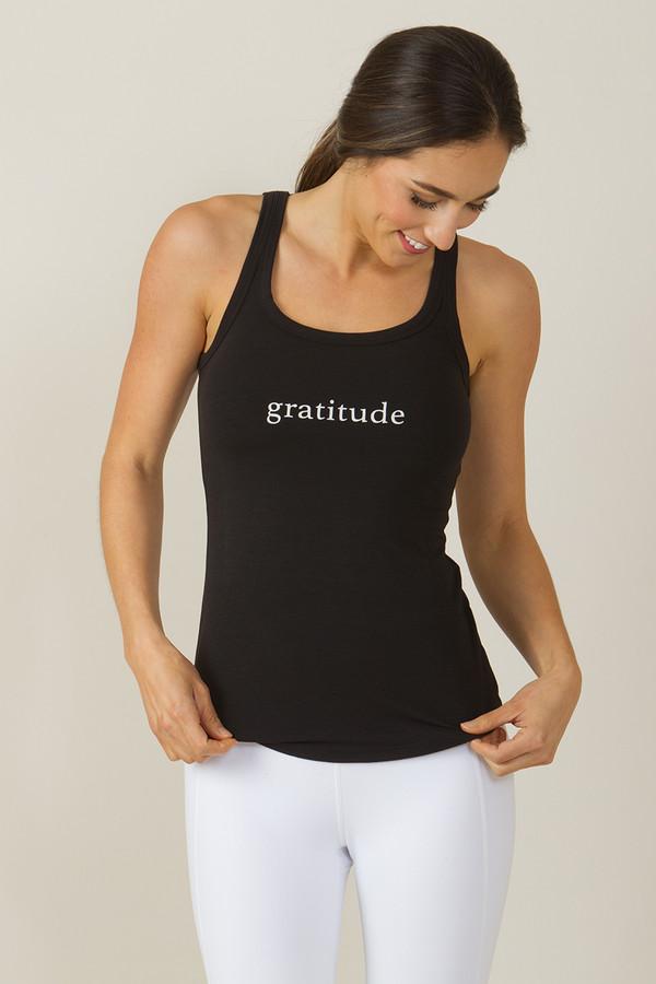 KiraGrace Gratitude Graphic Yoga Tank