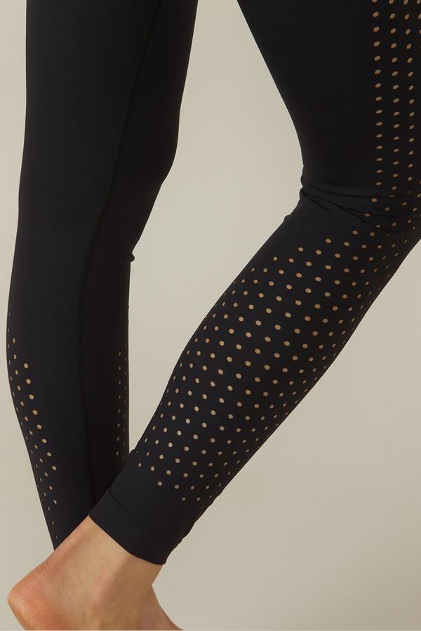 KiraGrace Warrior Dot Lasercut Yoga Legging