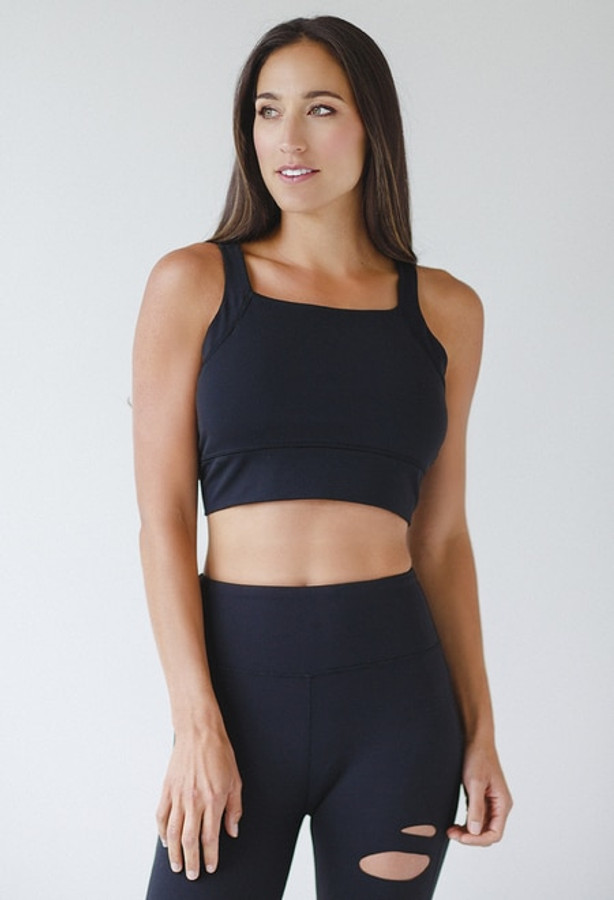 Supportive Kathryn Bra for Large Busts in Black