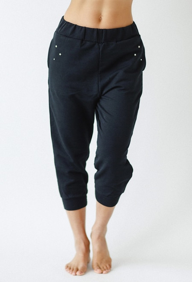 Stardust Jogger in Black
