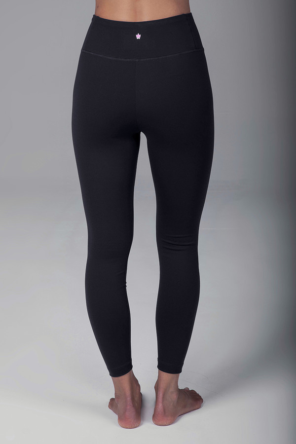 Grace Ultra High Waist 7/8 Yoga Legging (Black)