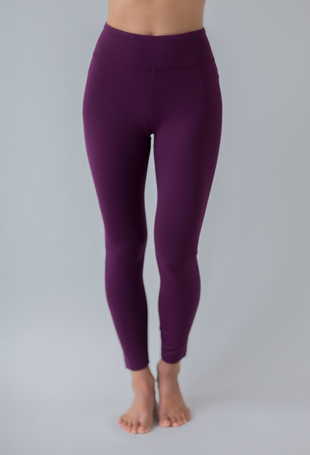 Grace Ultra High Waist 7/8 Yoga Legging in Moulin Rouge