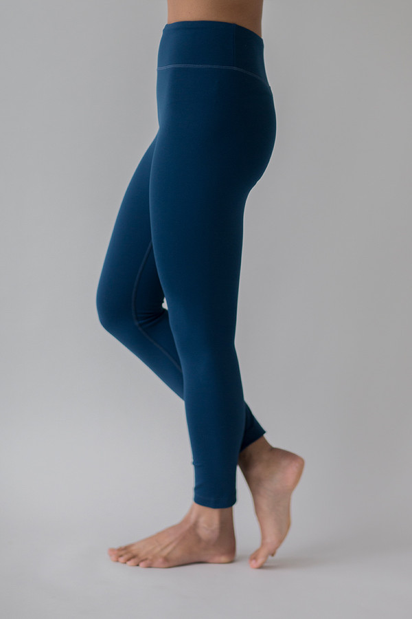Grace Ultra High Waist 7/8 Yoga Legging (Blue Abyss)
