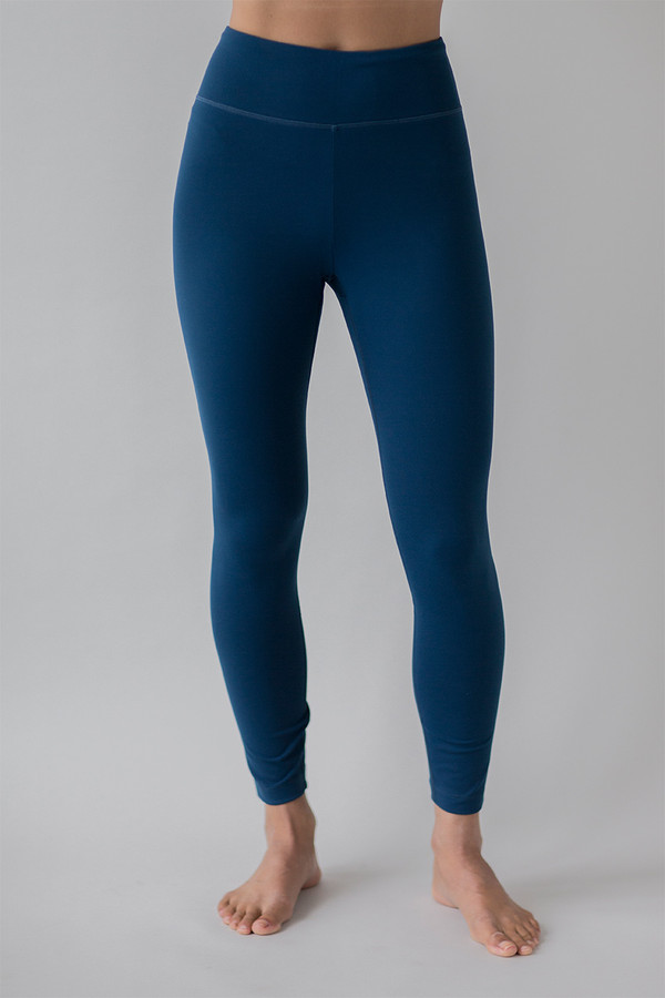 Grace Ultra High Waist 7/8 Yoga Legging in Blue Abyss