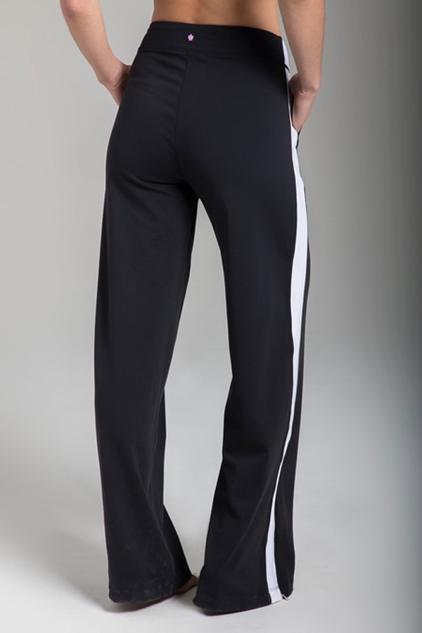 KiraGrace Seva Track Pant in Black & White
