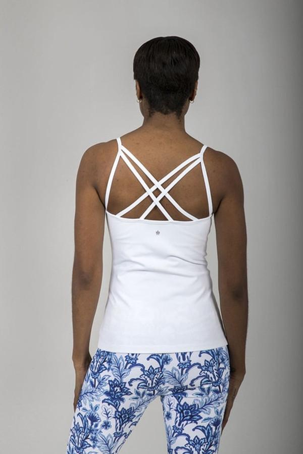 Grace En Pointe Yoga Cami (White)