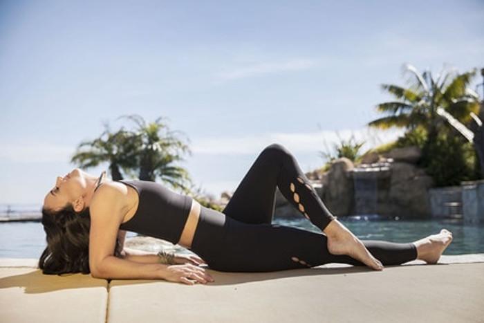 Seva Warrior 7/8 Yoga Legging (Black)