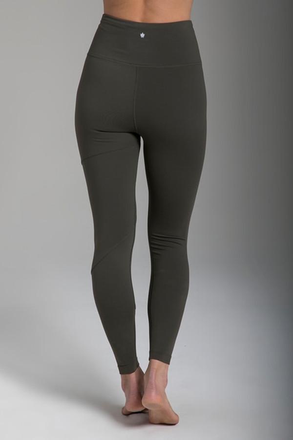 Warrior Tiffany Seva Yoga Legging (Olive)