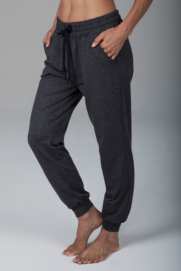 Boyfriend Jogger (Charcoal Heather)