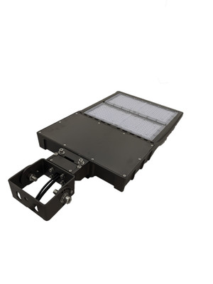 LED Street Light Fixture 300W - Yoke Trunnion - 42000 Lumens - 5 year Warranty - 5000K - UL  DLC - 1000W Equivalent Outdoor Parking Lot Pole Light